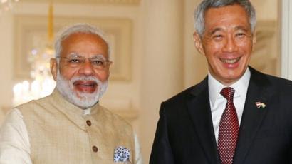 Prime Minister Modi and Prime Minister of Singapore