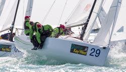 J/70 Muse- Heather Gregg-Earl sailing Key West Race Week