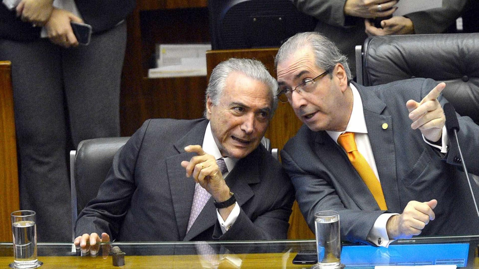 Juiz absolve Temer, Cunha e Geddel no 'Quadrilhão do MDB'