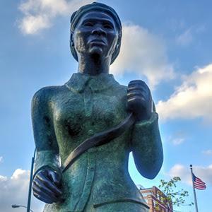 Harriet Tubman memorial statue in Harlem NY