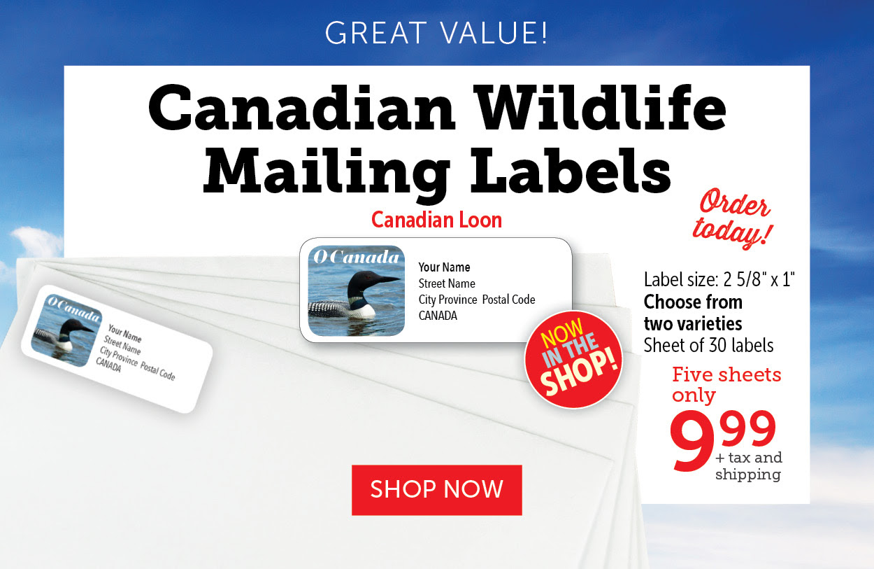 Wildlife Mailing Labels