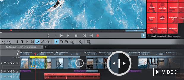 1. Edit videos