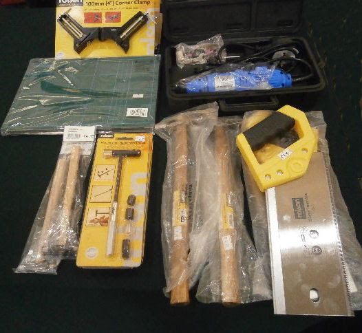 Tools, Wood and Electricals from Mini Lights