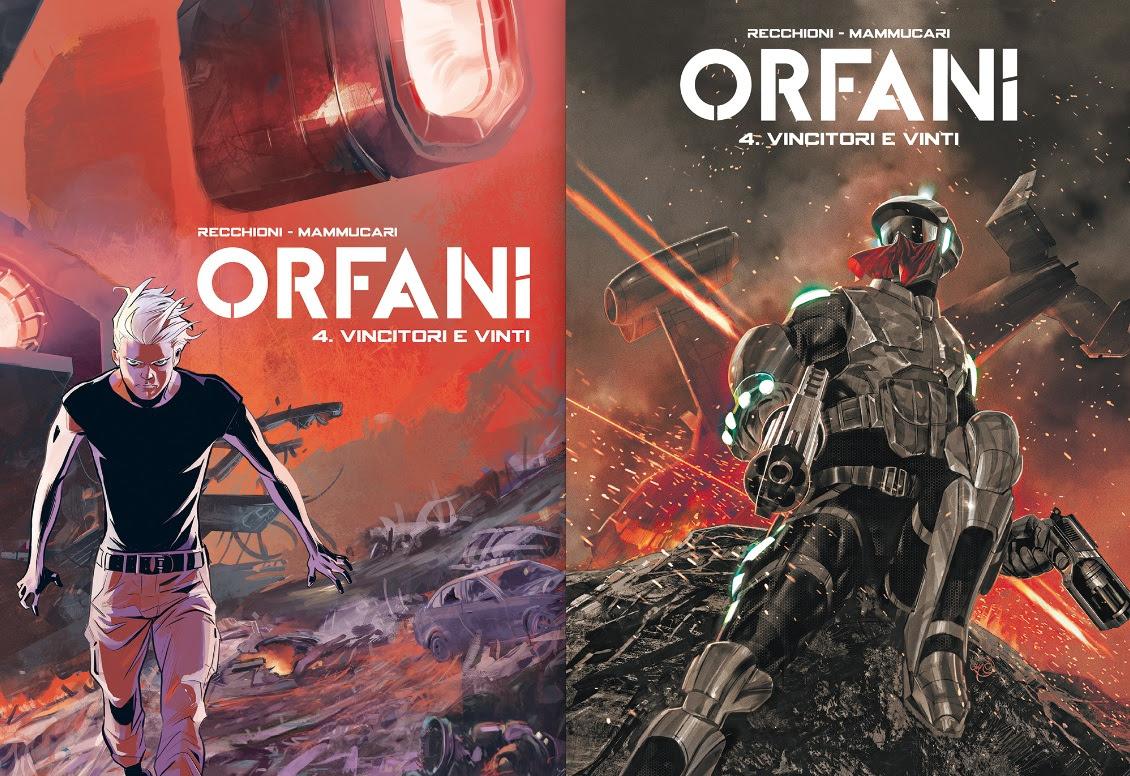 Orfani 4: il finale del primo arco narrativo della serie creata da Recchioni e Mammucari