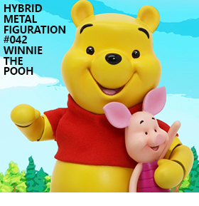 HYBRID METAL FIGURATION WINNIE THE POOH AND PIGLET