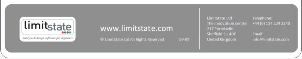 Contact us: info@limitstate.com / +44 (0) 114 224 2240