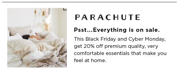 Parachute Best Black Friday Sales