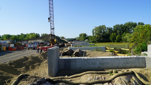 Weekly Construction Photo: Minnetonka-Hopkins LRT Bridge