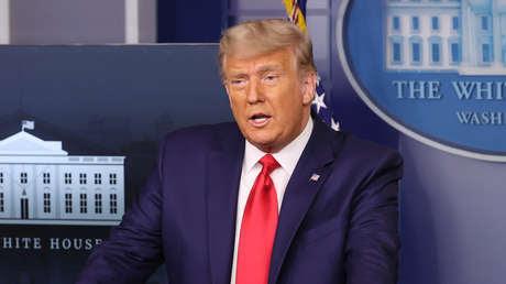 """Presentan formalmente la resolución para iniciar un 'impeachment' a Trump por """"incitar a la violencia contra el Gobierno"""""""