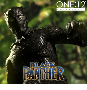 MARVEL ONE:12 COLLECTIVE BLACK PANTHER