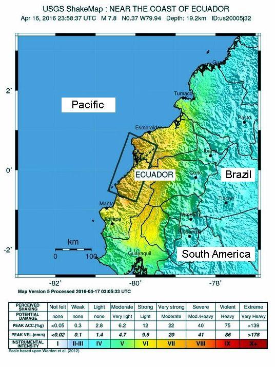 Equador Earthquake -1A