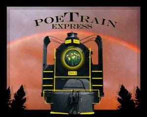 Canadian poet David Brydges was the motivating force behind The Original PoeTrain Express Toronto-Cobalt-Toronto May 2012