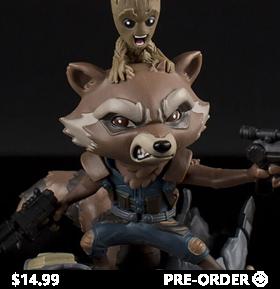 Guardians of the Galaxy Vol. 2 Q-Fig Rocket & Groot Diorama
