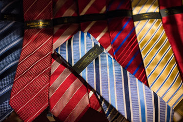 Ties for sale, for $60 each, at the Trump Store in Trump Tower in New York City late last month.