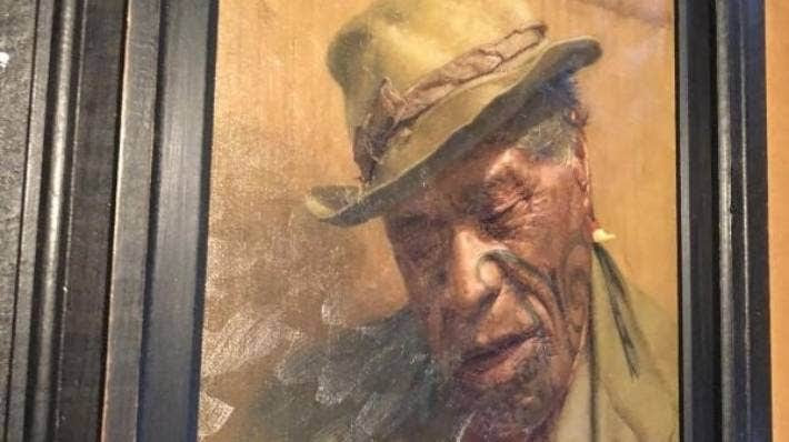 A painting by C.F. Goldie stolen in Hamilton has been found.