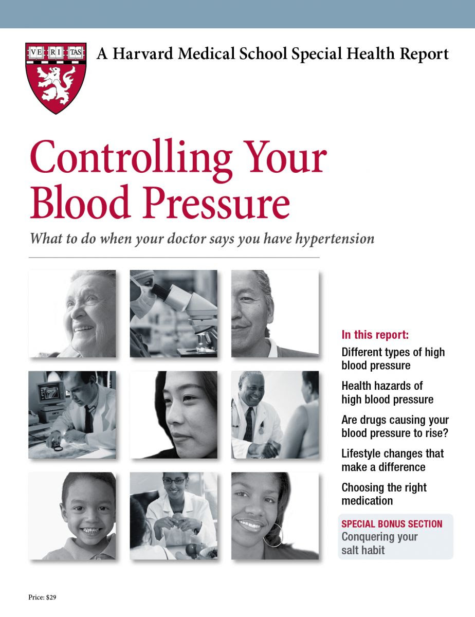 Product Page - Controlling Your Blood Pressure