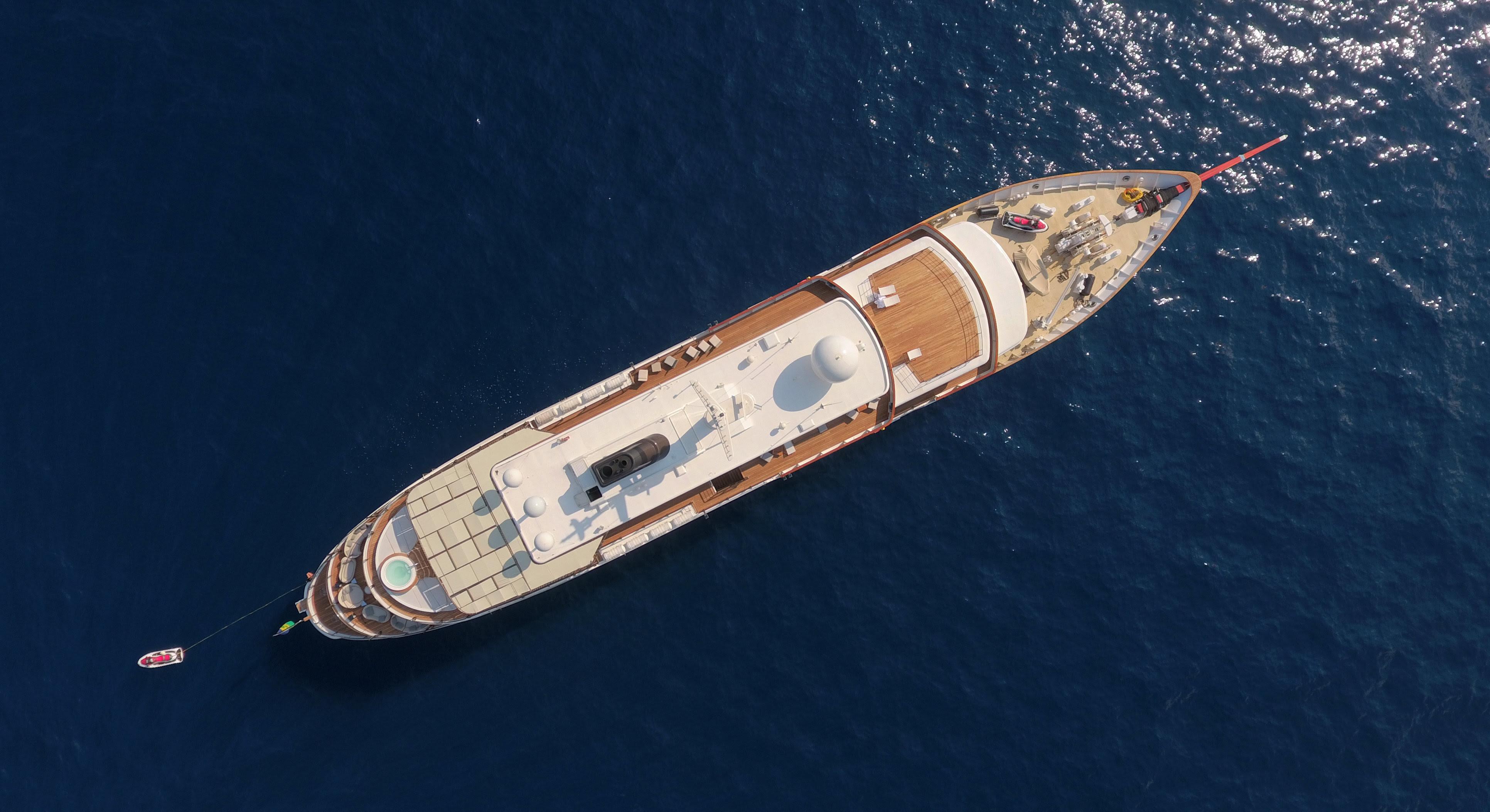 CHAKRA Charter Yacht