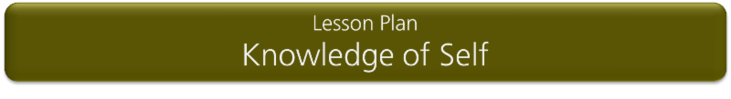 Lesson Plan_ Knowledge of Self