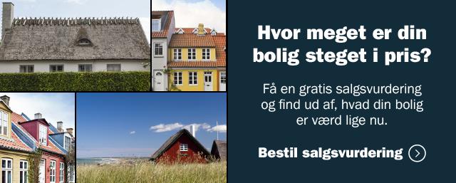Hvor meget er din bolig steget i pris?