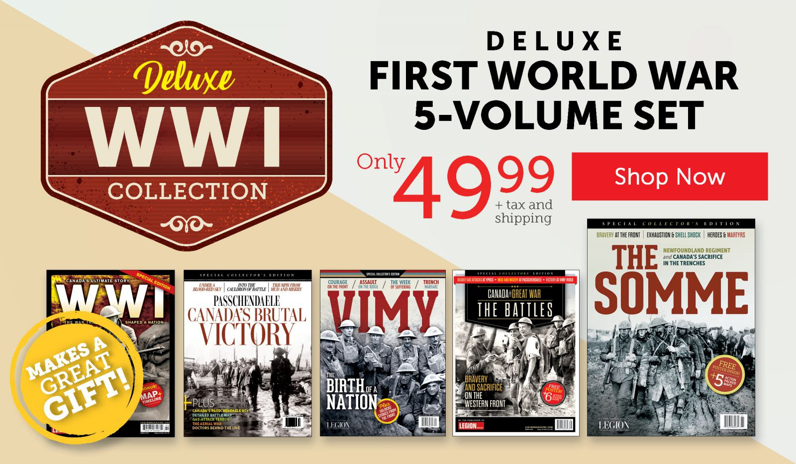 First World War 5-Volume Set