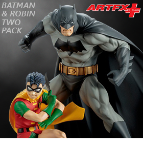 ALL STAR BATMAN AND ROBIN ARTFX+ TWO-PACK
