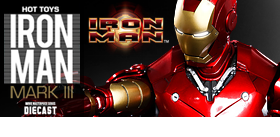 HOT TOYS DIE-CASE IRON MAN MARK III