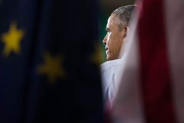 President Obama last week in Elkhart, Ind., where he laid out an argument against the Republican economic agenda and, without naming him, an indictment of the presumptive Republican nominee, Donald J. Trump.