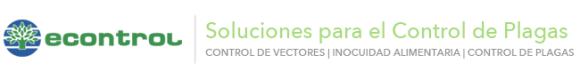 ECONTROL   Soluciones para el Control de Plagas   CONTROL DE VECTORES   INOCUIDAD ALIMENTARIA   CONTROL DE PLAGAS