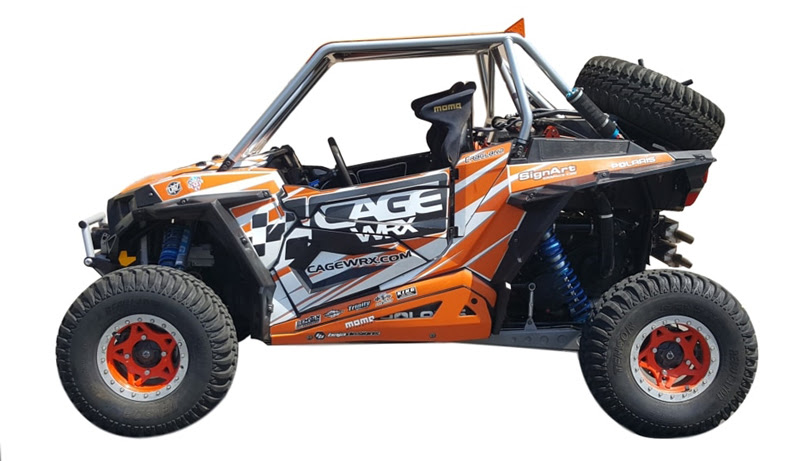 Cagewrx Introduces The New Baja Spec Utv Roll Cage For The