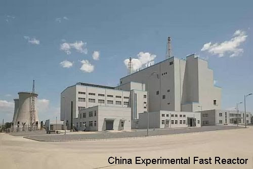 China fast expt reactor -1