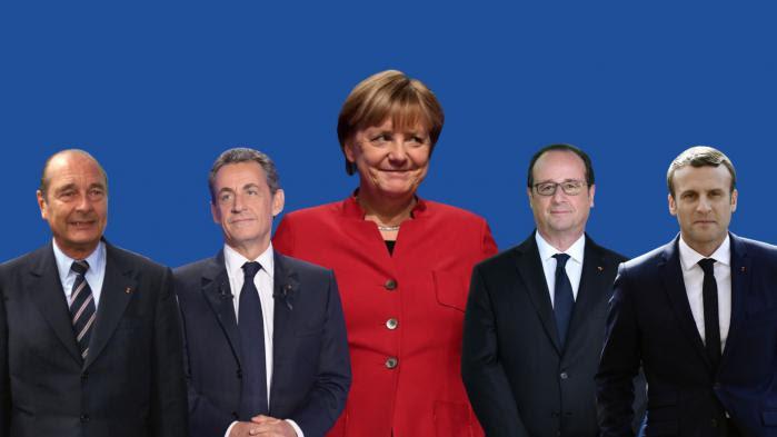 VIDEO. Chirac, Sarkozy, Hollande et Macron : les présidents français passent, Angela Merkel reste