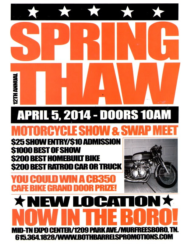 NEW LOCATION for the Spring Thaw