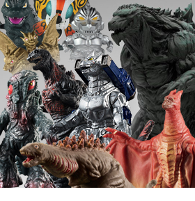 NEW GODZILLA FIGURES & COLLECTIBLES