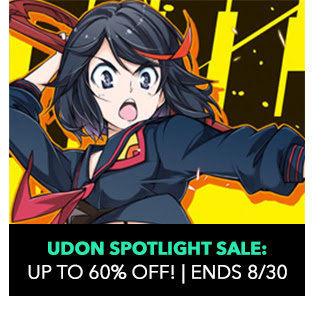 Udon Spotlight Sale: up to 60% off! Ends 8/30.