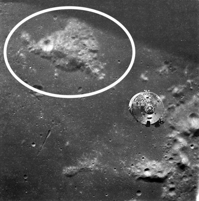 Mount Marilyn, taken from Apollo 10