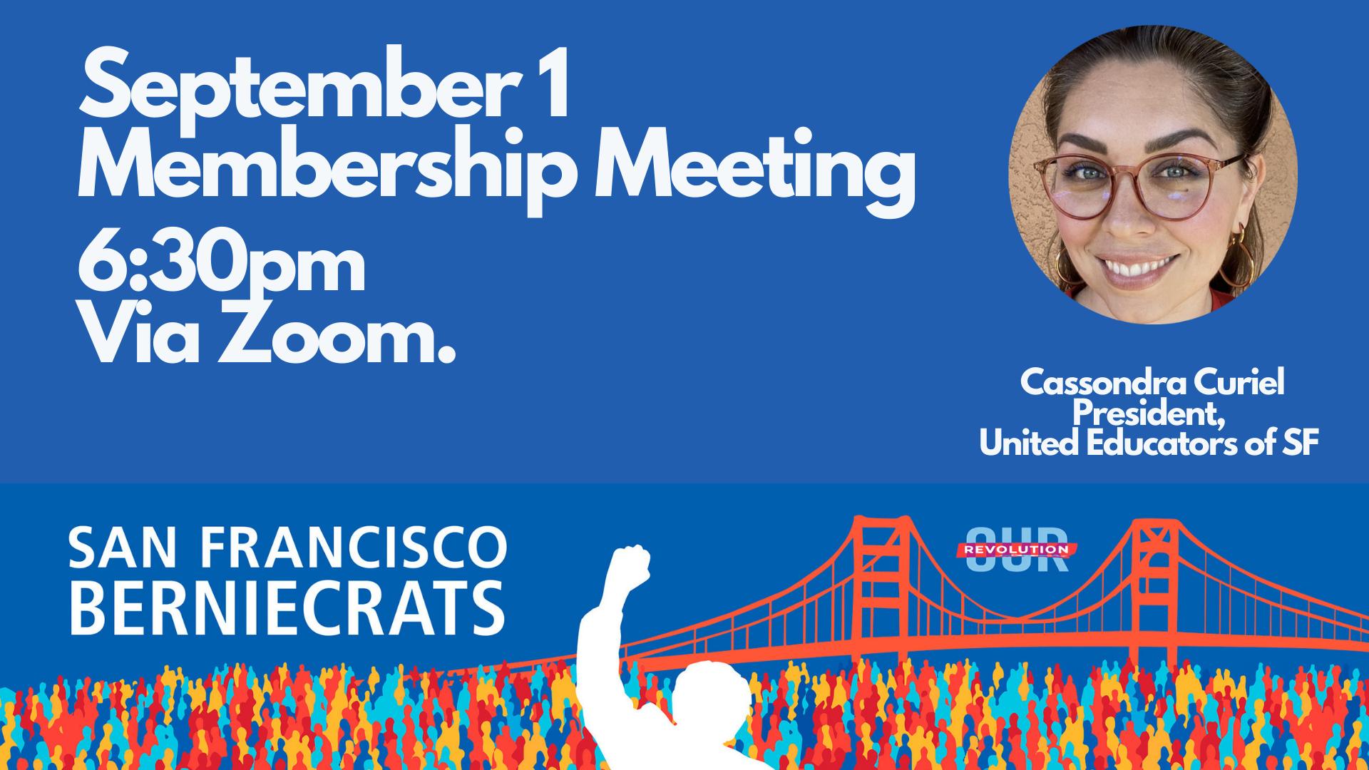 SF Berniecrats monthly meeting @ Online