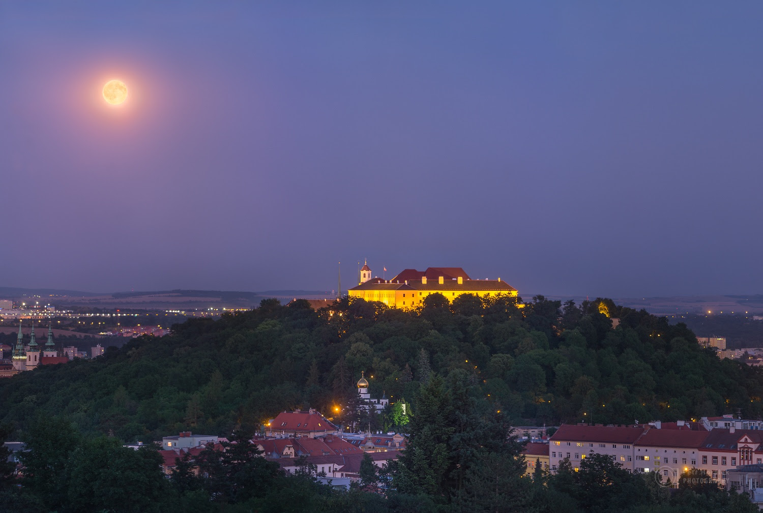 Image result for Moon over Brno
