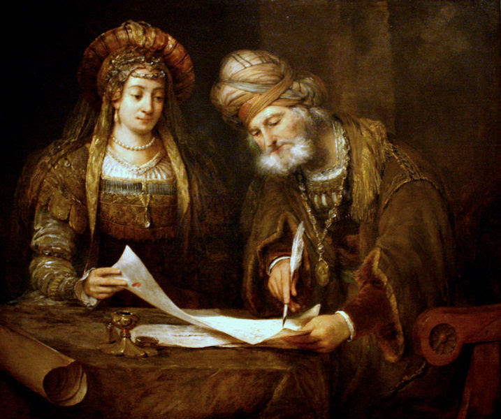 Esther-and-Mordechai