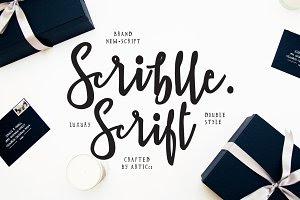 Brush Script Font - Scriblle