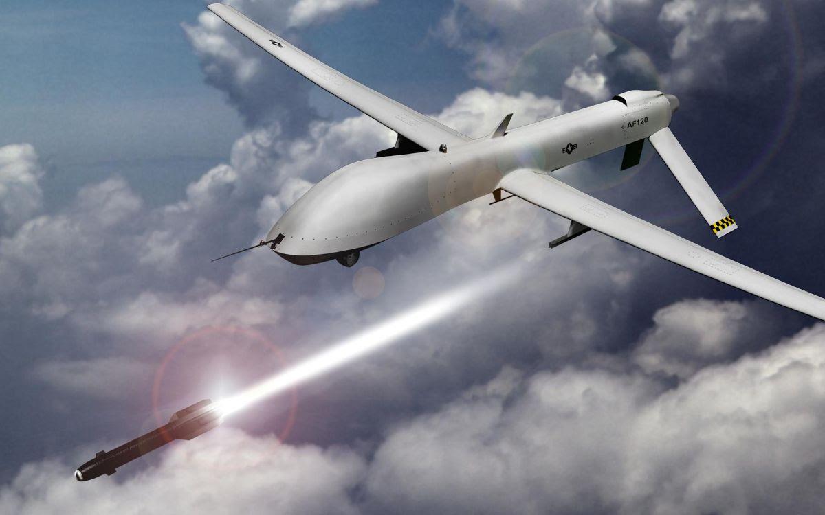 Drone launchingmissile