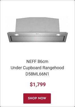 NEFF 86cm Under Cupboard Rangehood D58ML66N1
