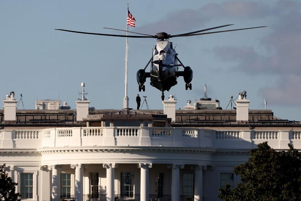 Peligro, la Casa Blanca de Donald Trump.
