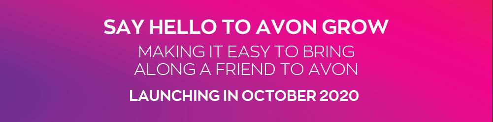 Say hello to Avon Grow