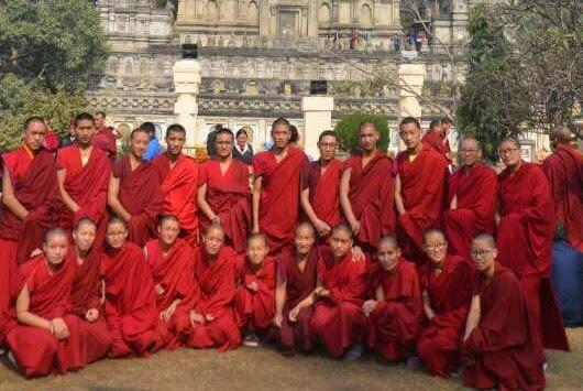 BodhGaya, Kalachakra, mniši a mnišky