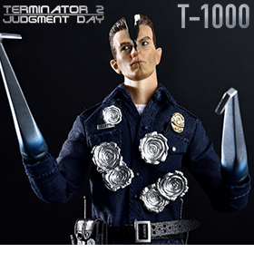 TERMINATOR 2 1/12 SCALE SUPREME T-1000 EXCLUSIVE FIGURES