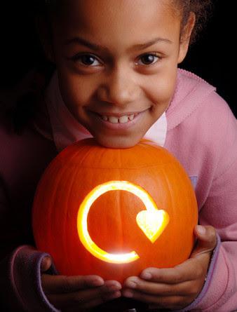 girl pumpkin