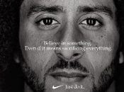 """Nike effected the store owner's boycott when the company put out a 30th anniversary """"Just Do It""""Kaepernick advertisement."""