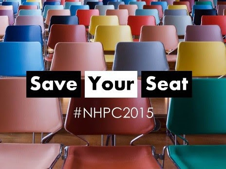 Save your Seat #NHPC2015