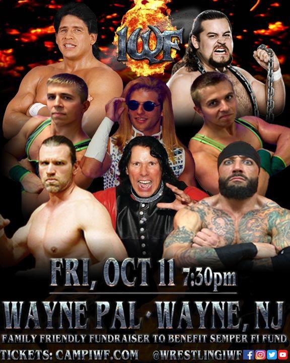 IWF Live Event | Fri Oct 11 | Wayne, NJ