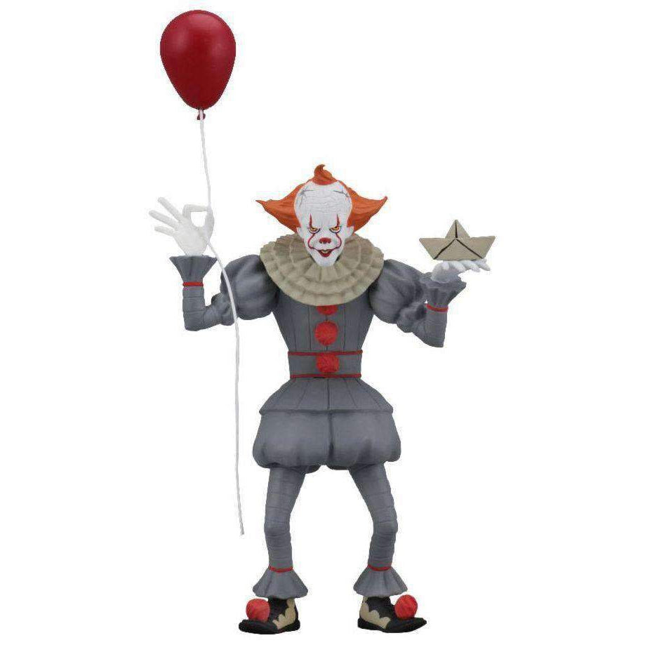 "Image of Toony Terrors - 6"" Scale Action Figure - Pennywise (IT 2018 movie)"
